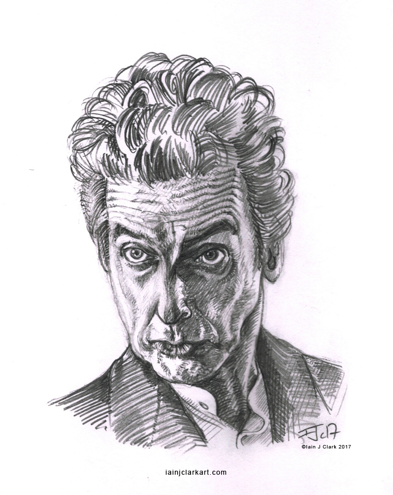 Capaldi_Twelfth_Doctor_Sketch_2_(c)iainjclark2017 copy