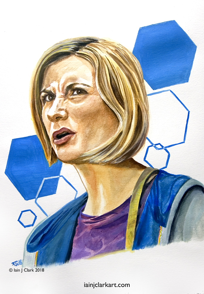 Jodie Whittaker and 'Doctorishness'