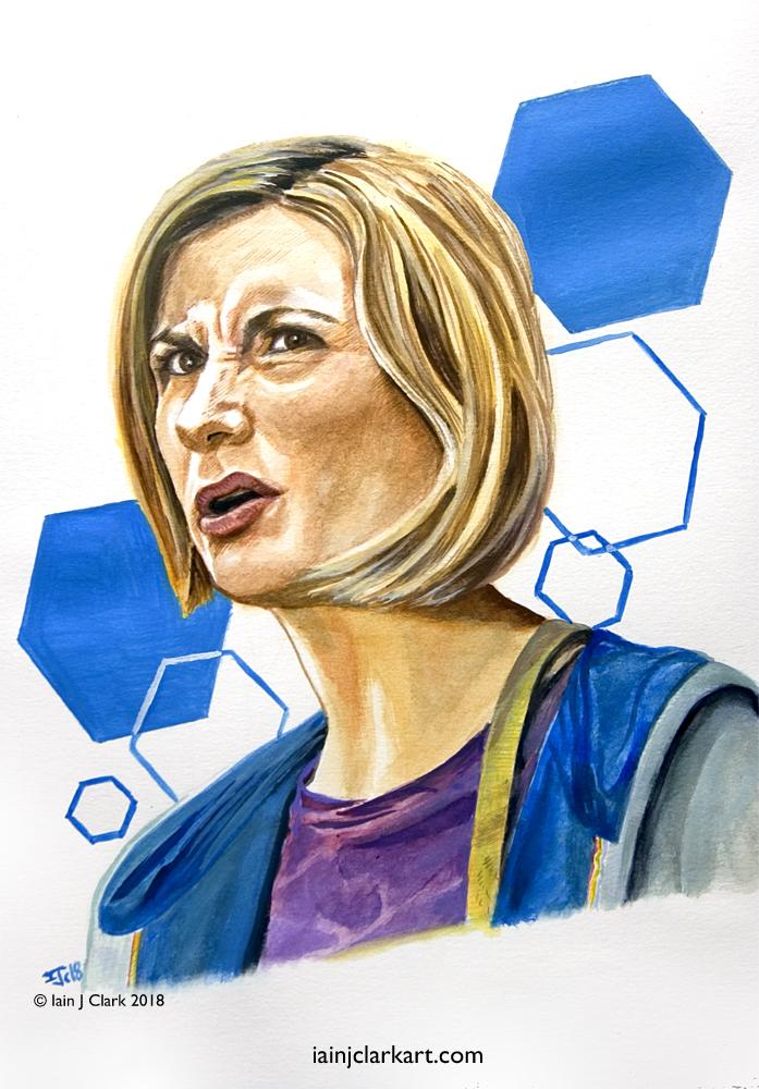 Jodie Whittaker and 'Doctorishness'